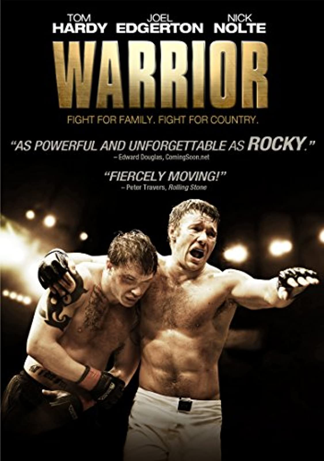 Warrior On DVD With Tom Hardy
