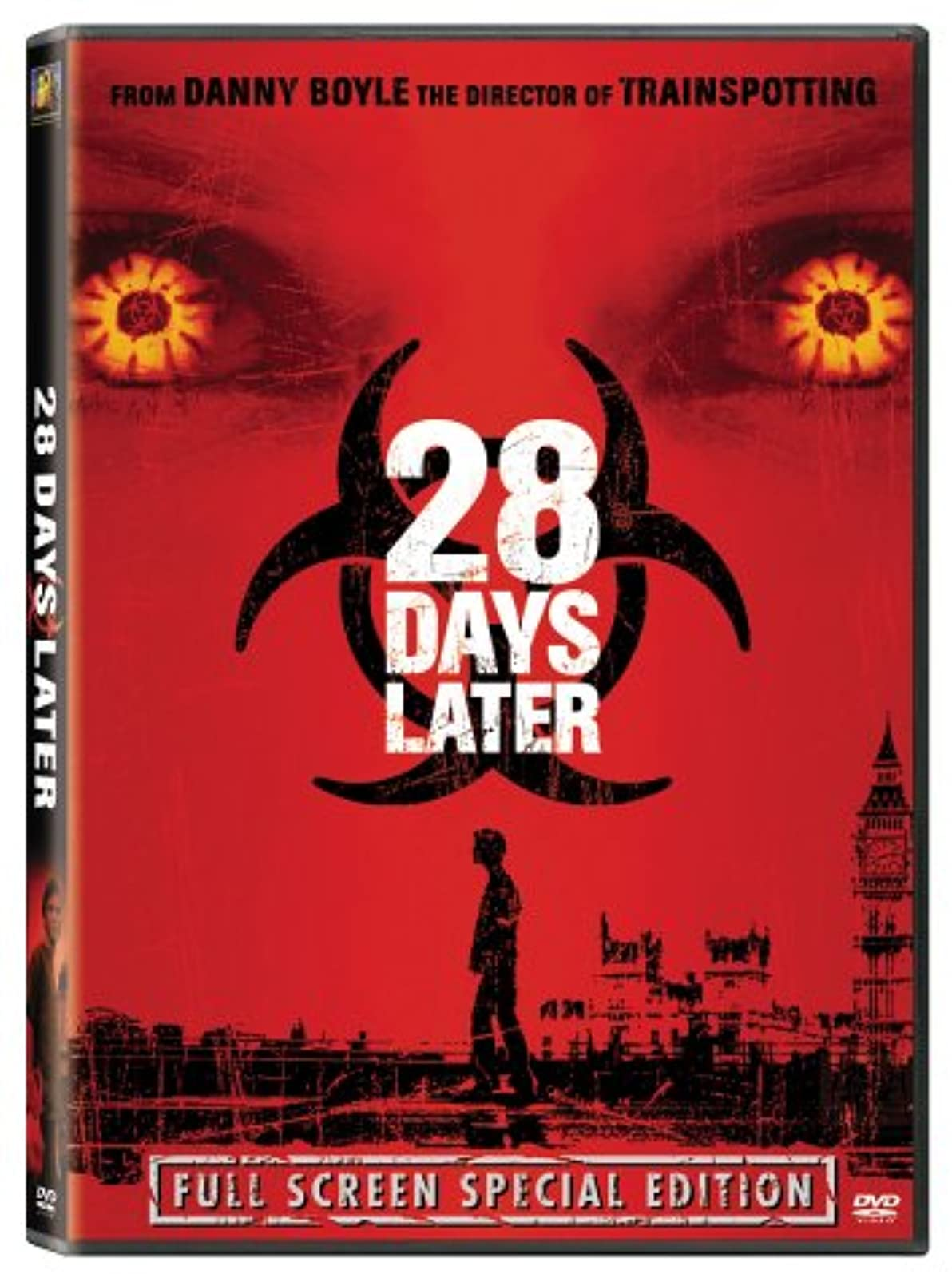 28 Days Later Full Screen Edition On DVD With Cillian Murphy Horror