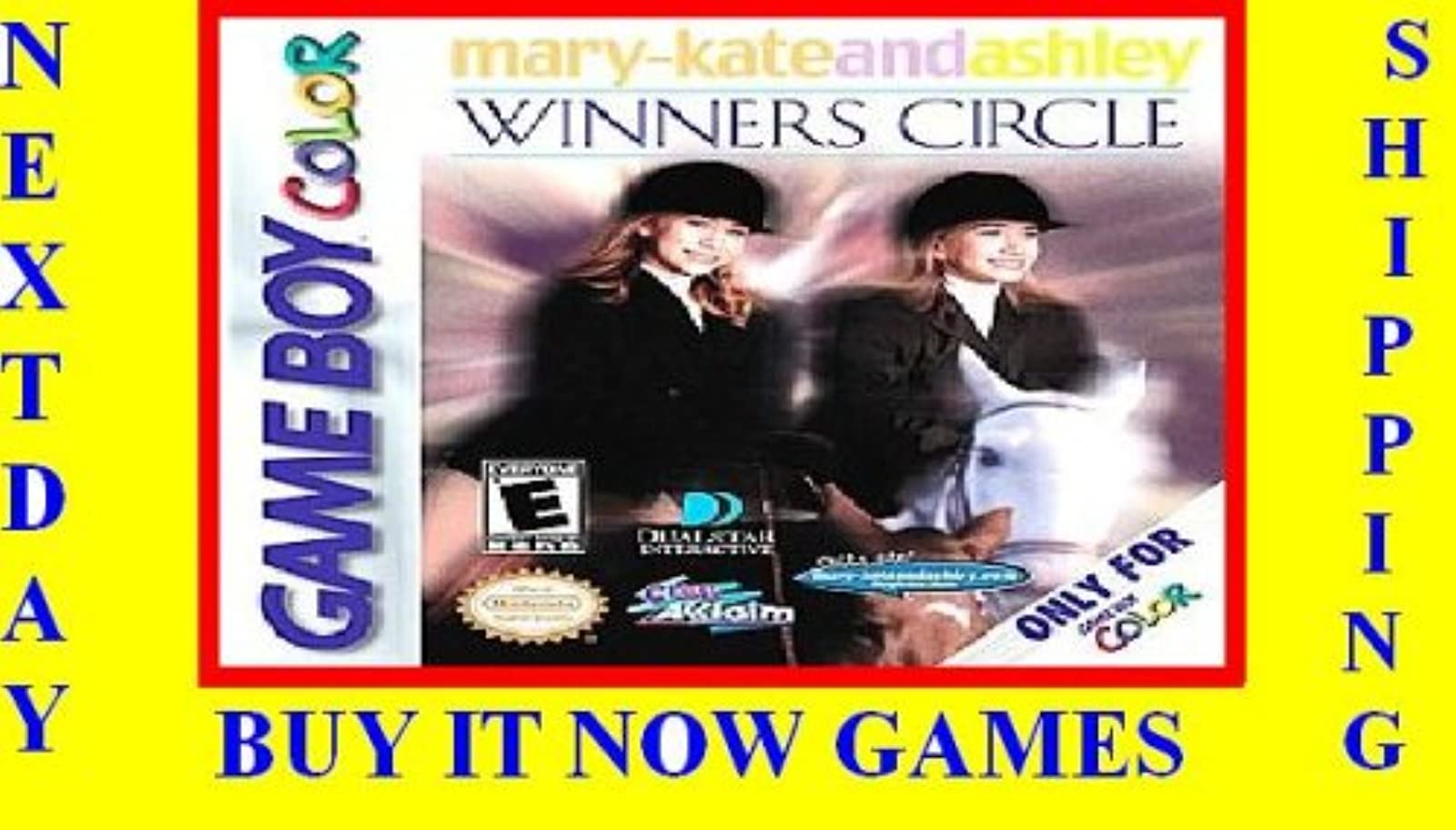 Mary Kate & Ashley Winners Circle On Gameboy Color