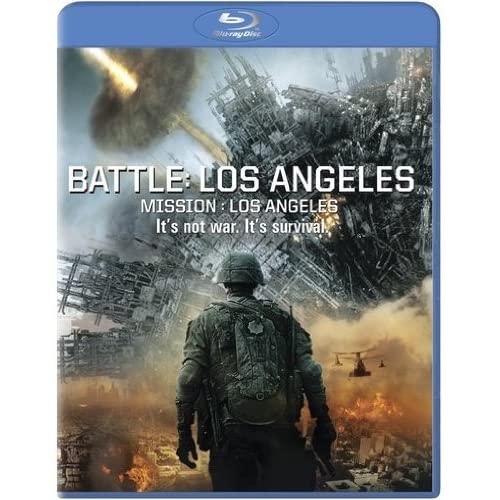Battle: Los Angeles Blu-Ray Blu-Ray 2011 Aaron Eckhart Michelle Rodriguez On Blu