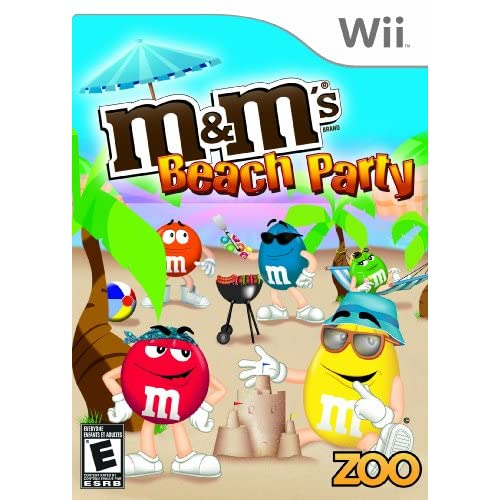 M&m's Beach Party For Wii