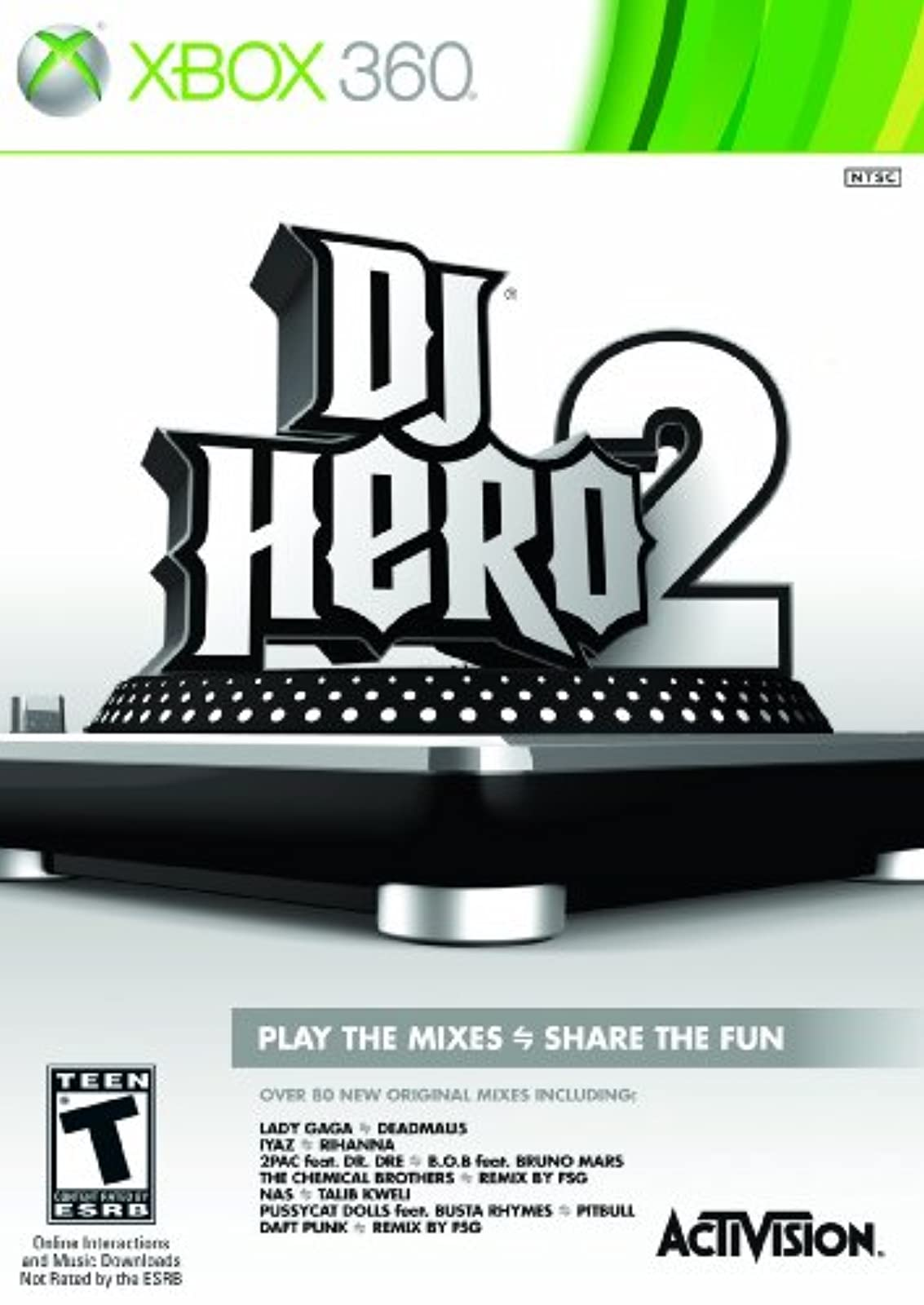 DJ Hero 2 Software Stand-Alone Software For Xbox 360