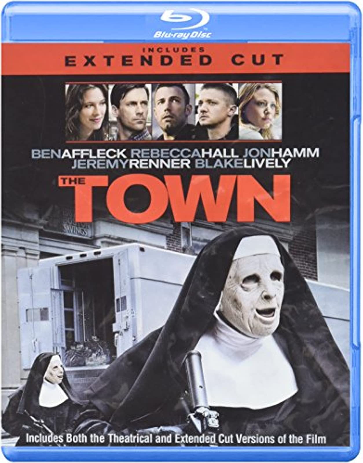 The Town On Blu-Ray With Ben Affleck Drama