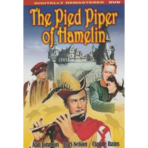 Image 0 of The Pied Piper Of Hamelin Slim Case On DVD With Van Johnson