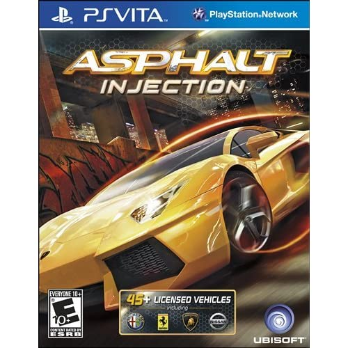 Asphalt: Injection PlayStation Vita For Ps Vita Racing