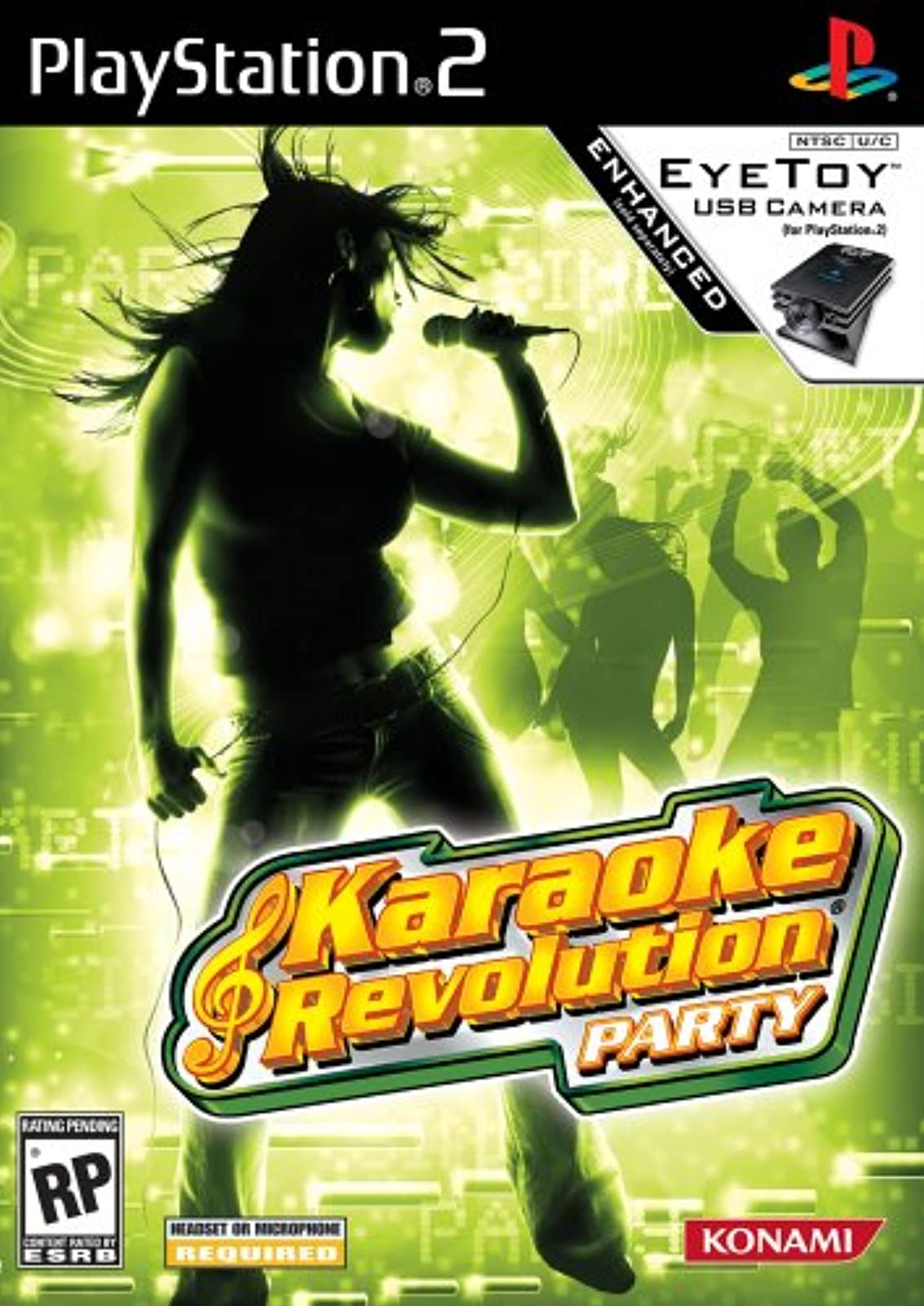 Karaoke Revolution Party For PlayStation 2 PS2 Music