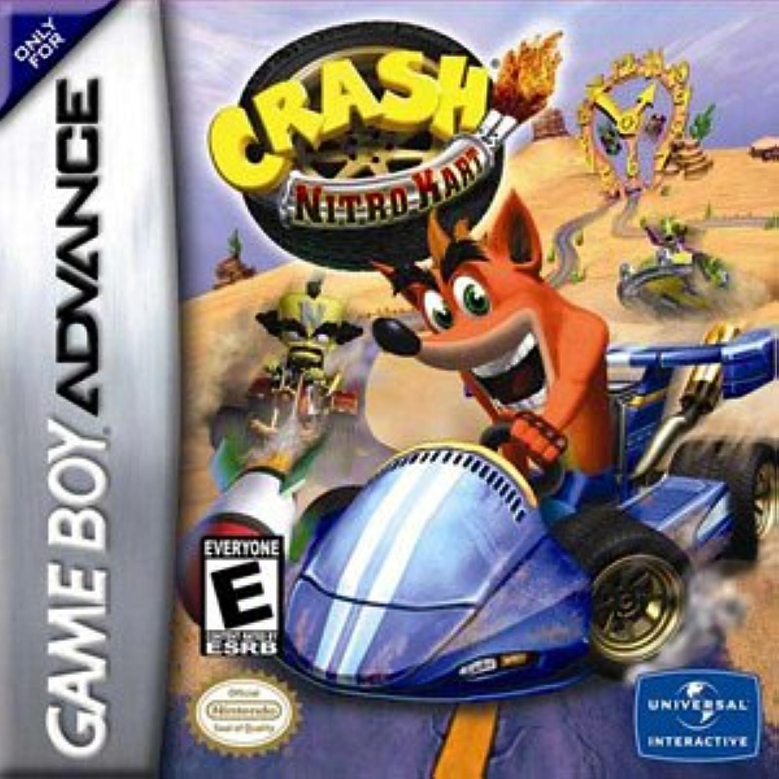 Crash Nitro Kart For GBA Gameboy Advance Racing