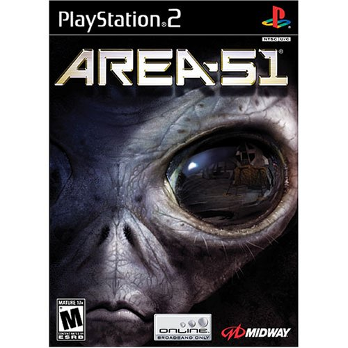 Area 51 For PlayStation 2 PS2