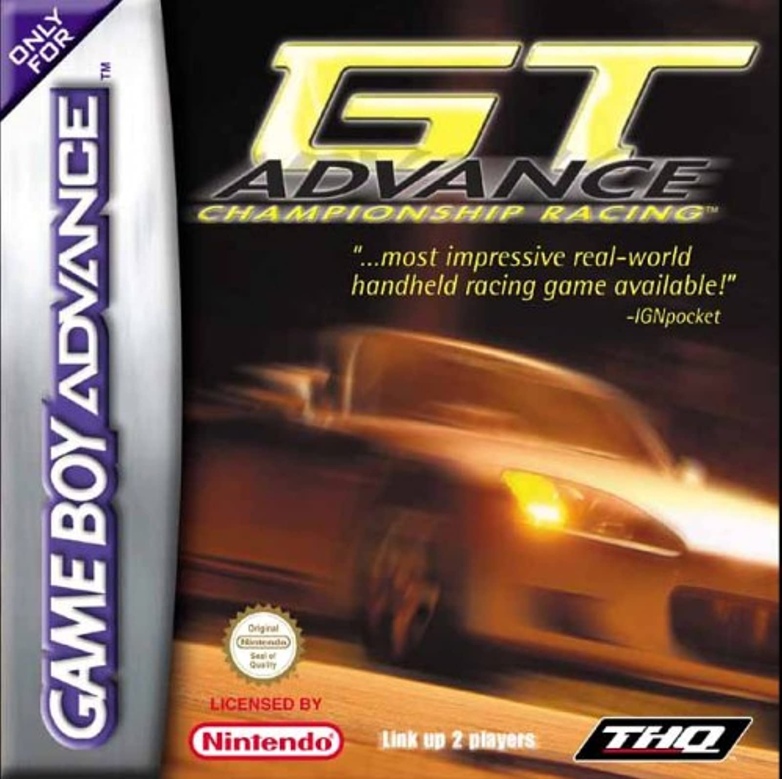 GT Advance Championship Racing GBA For GBA Gameboy Advance