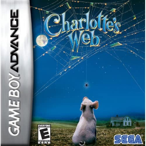 Charlotte's Web For GBA Gameboy Advance Action