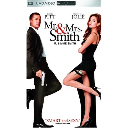 Mr And Mrs Smith UMD For PSP