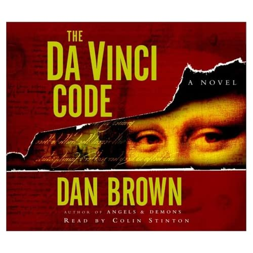 The Da Vinci Code By Dan Brown And Colin Stinton Reader On Audiobook