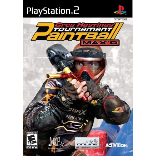 Greg Hastings' Tournament Paintball Max'd For PlayStation 2 PS2