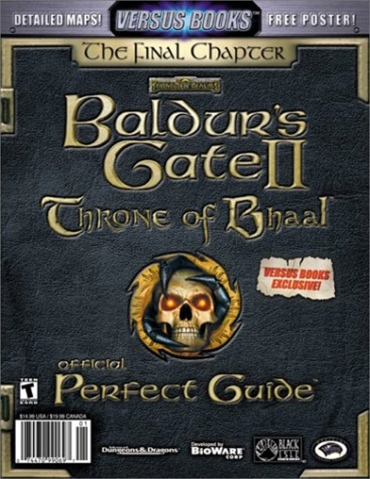 Versus Books Official Baldur's Gate II: Throne Of Bhaal Perfect Guide Strategy G