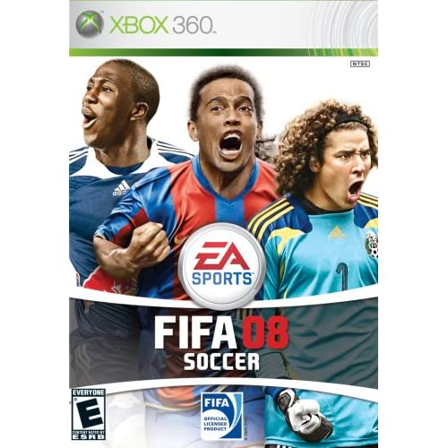FIFA 08 For Xbox 360 Soccer