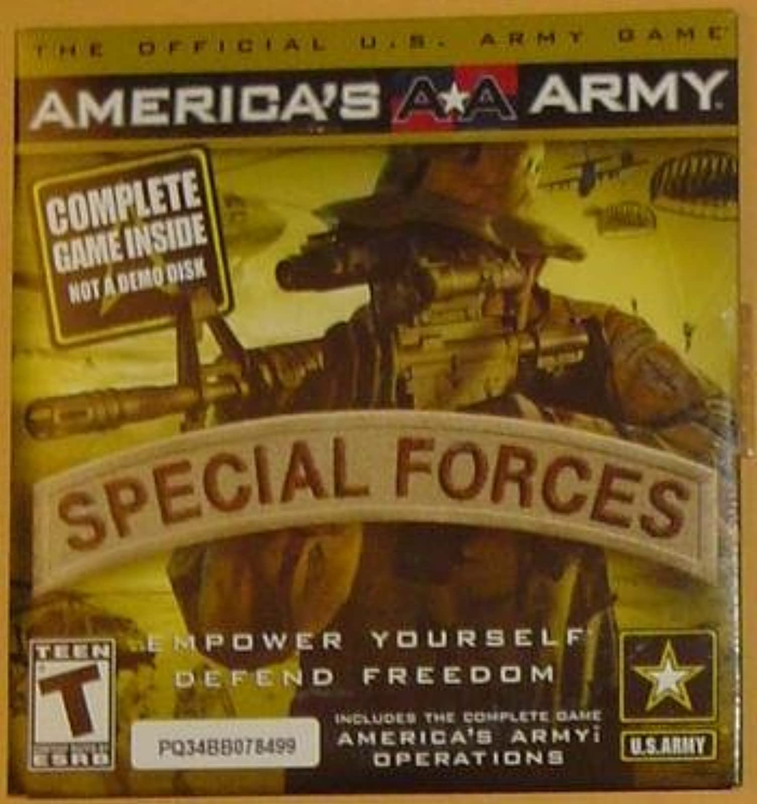 America's Army: Special Forces Software