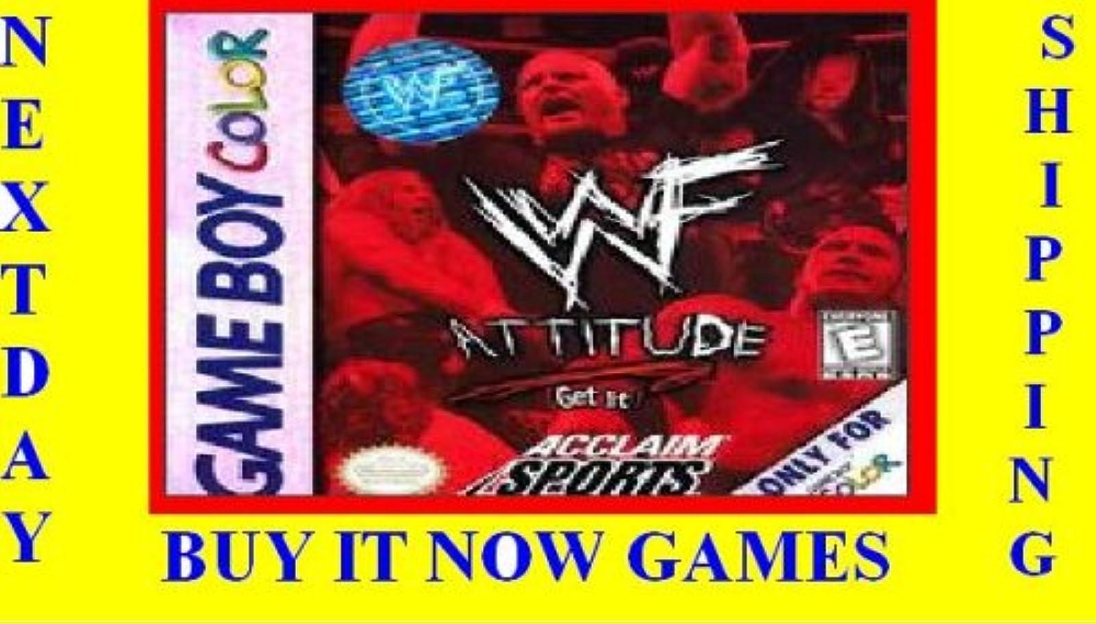 WWF Attitude Wrestling On Gameboy Color