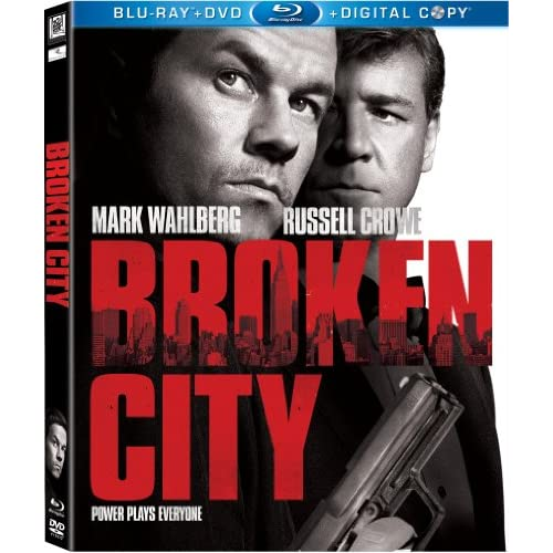 Broken City Blu-Ray With Mark Wahlberg