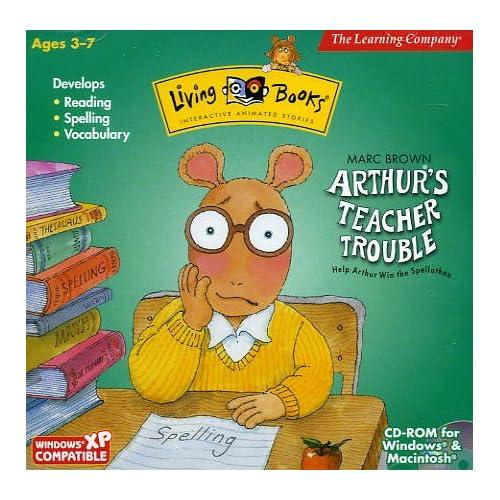 Arthur's Teacher Trouble PC MAC Software