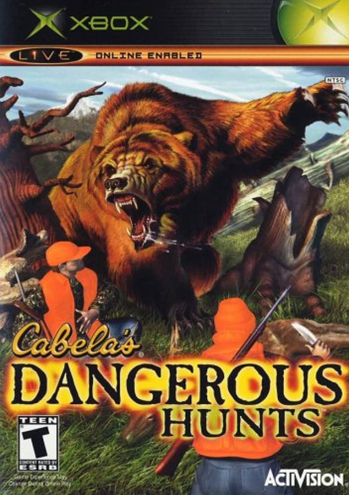 Cabela's Dangerous Hunts Xbox For Xbox Original Shooter