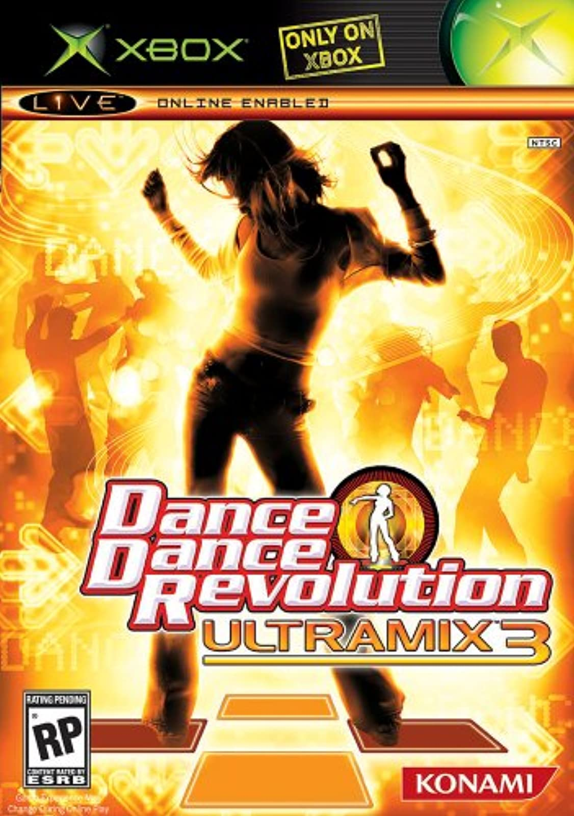 Dance Dance Revolution Ultramix 3 Xbox For Xbox Original RPG