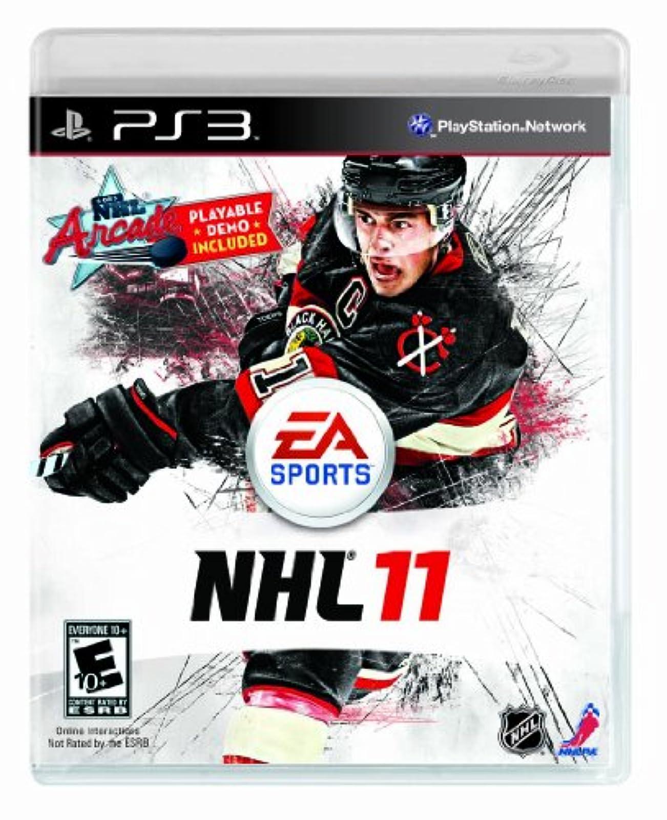 NHL 11 For PlayStation 3 PS3 Hockey