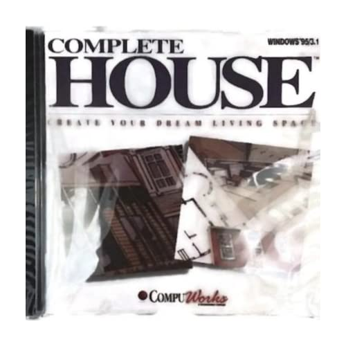 Complete House Software Windows 3.1 95 PC