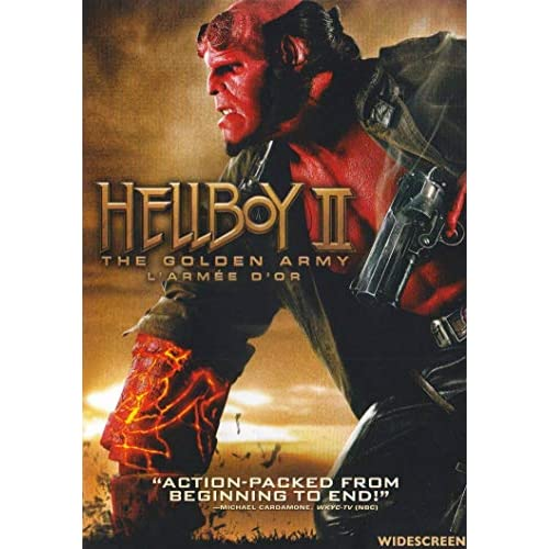 Hellboy II: The Golden Army Widescreen On DVD With Ron Perlman
