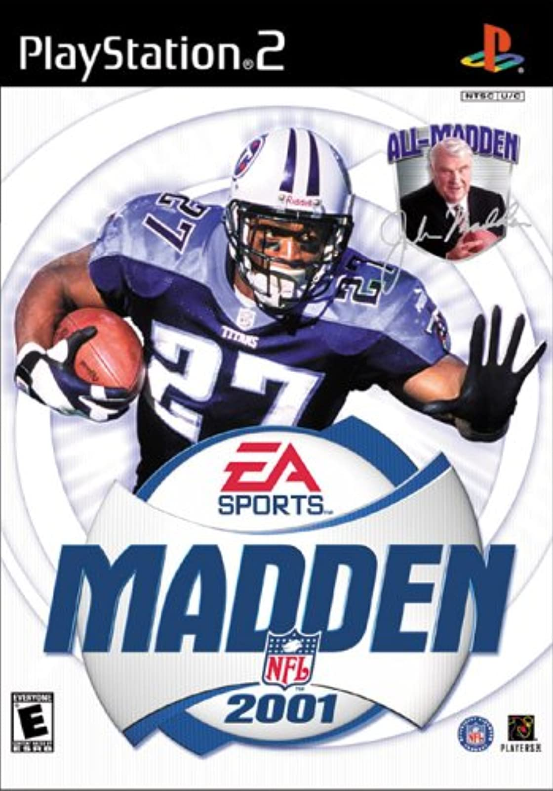 Madden NFL 2001 For PlayStation 2 PS2 Football