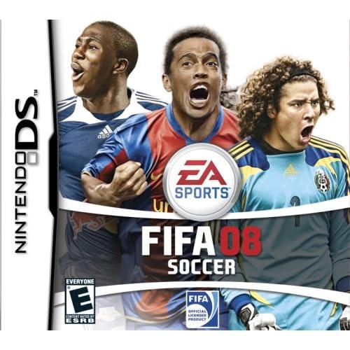 FIFA 08 Soccer For Nintendo DS DSi 3DS 2DS
