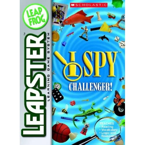 Leapfrog Leapster Learning Game Scholastic I Spy For Leap Frog