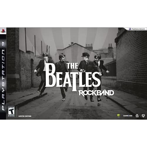 The Beatles: Rock Band Limited Edition Premium Bundle For PlayStation 3 PS3 Musi