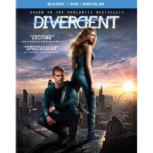 Divergent Digital HD On Blu-Ray With Shailene Woodley