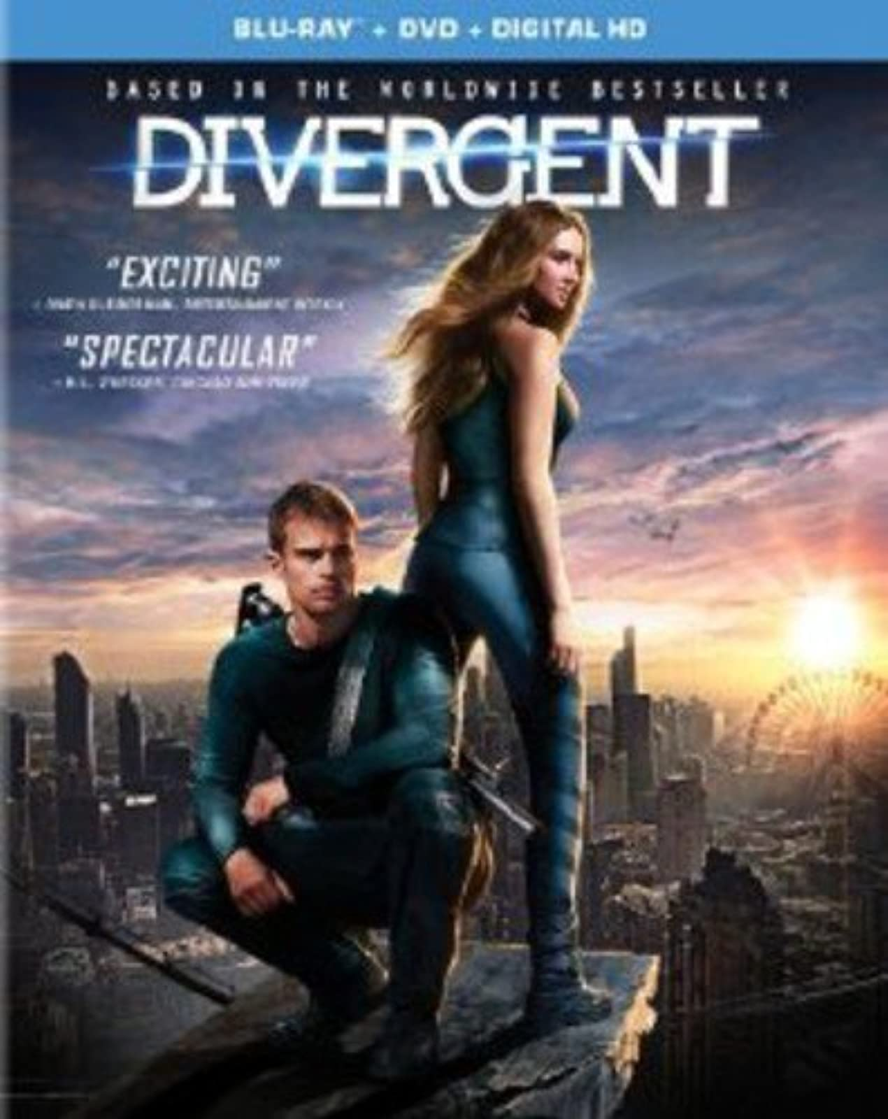 Divergent Digital HD On Blu-Ray With Shailene Woodley