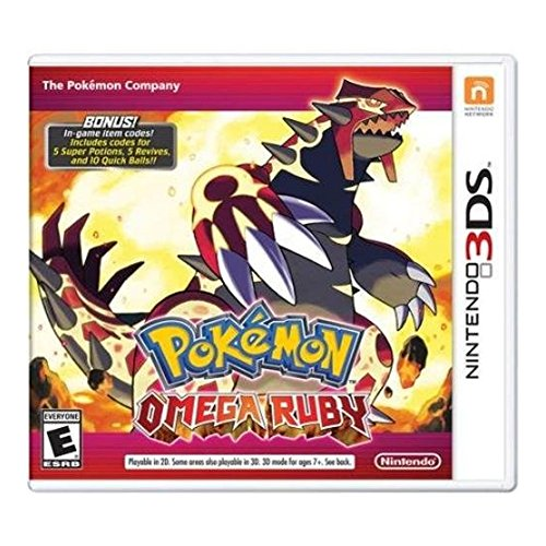 Nintendo Pokemon Omega Ruby RPG For 3DS