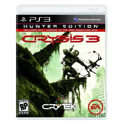 Image 0 of Crysis 3 Hunter Edition PlayStation 3 For PlayStation 3 PS3 Shooter