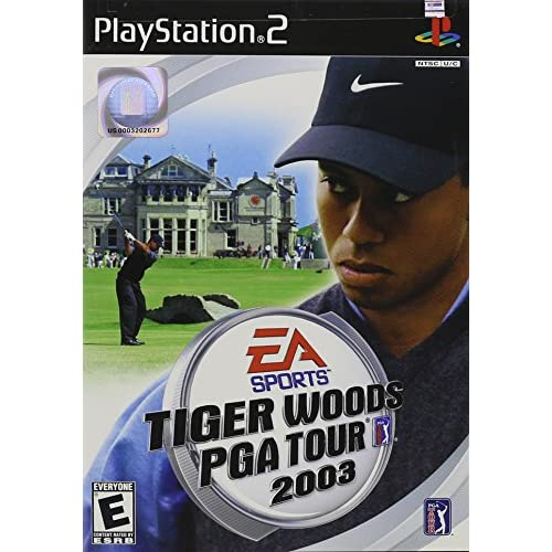 Tiger Woods PGA Tour 2003 For PlayStation 2 PS2 Golf