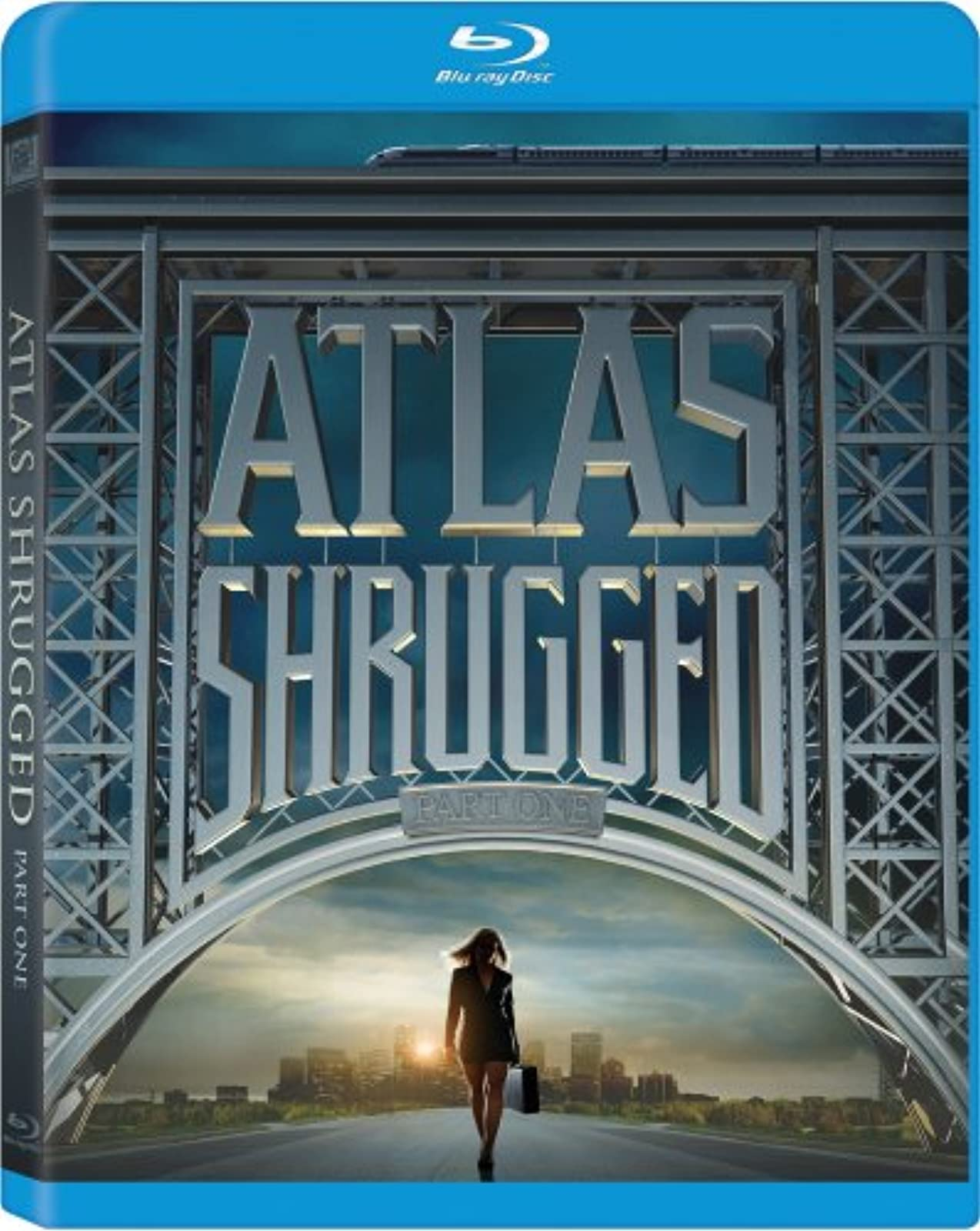Atlas Shrugged: Part One Blu-Ray On Blu-Ray With Taylor Schilling Drama