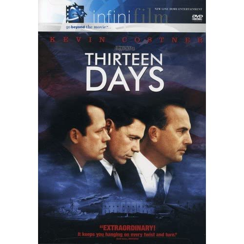 Thirteen Days Infinifilm Edition On DVD With Kevin Costner 13 Drama