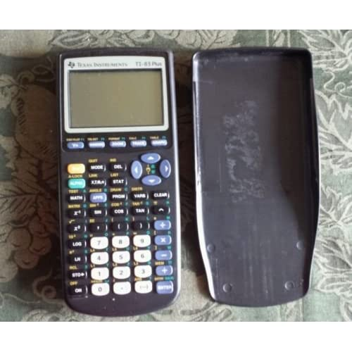 Lot Of 10 Texas Instruments TI-83 Plus Graphic Calculator