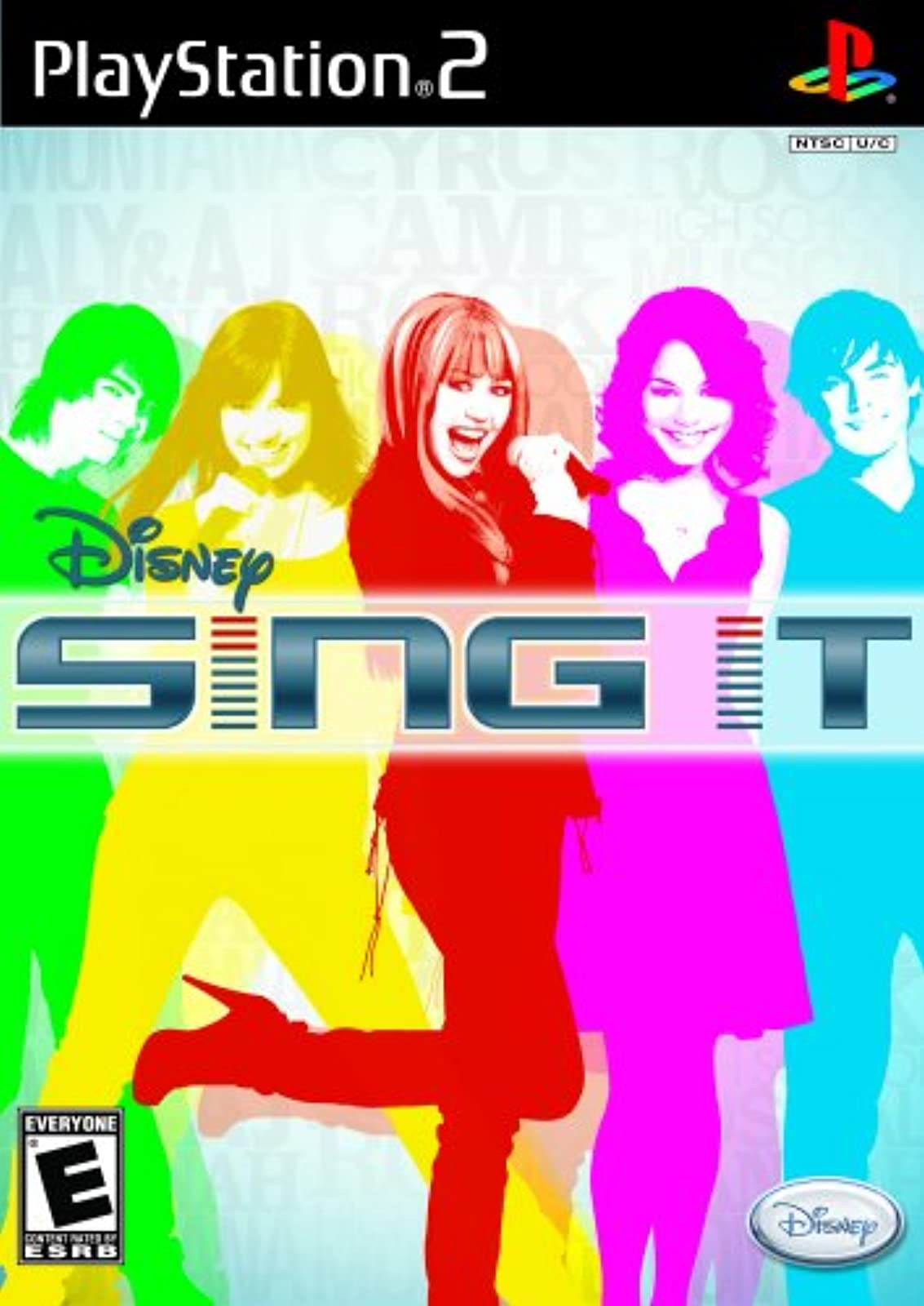 Disney Sing It For PlayStation 2 PS2 Music