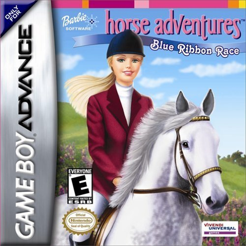 Barbie Horse Adventures: Blue Ribbon Race For GBA Gameboy Advance