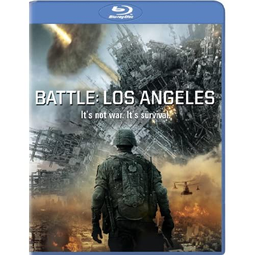 Battle: Los Angeles Blu-Ray On Blu-Ray With Aaron Eckhart
