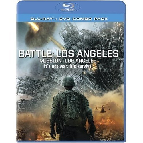 Battle: Los Angeles Blu Ray/dvd Combo Pack Blu-Ray On Blu-Ray