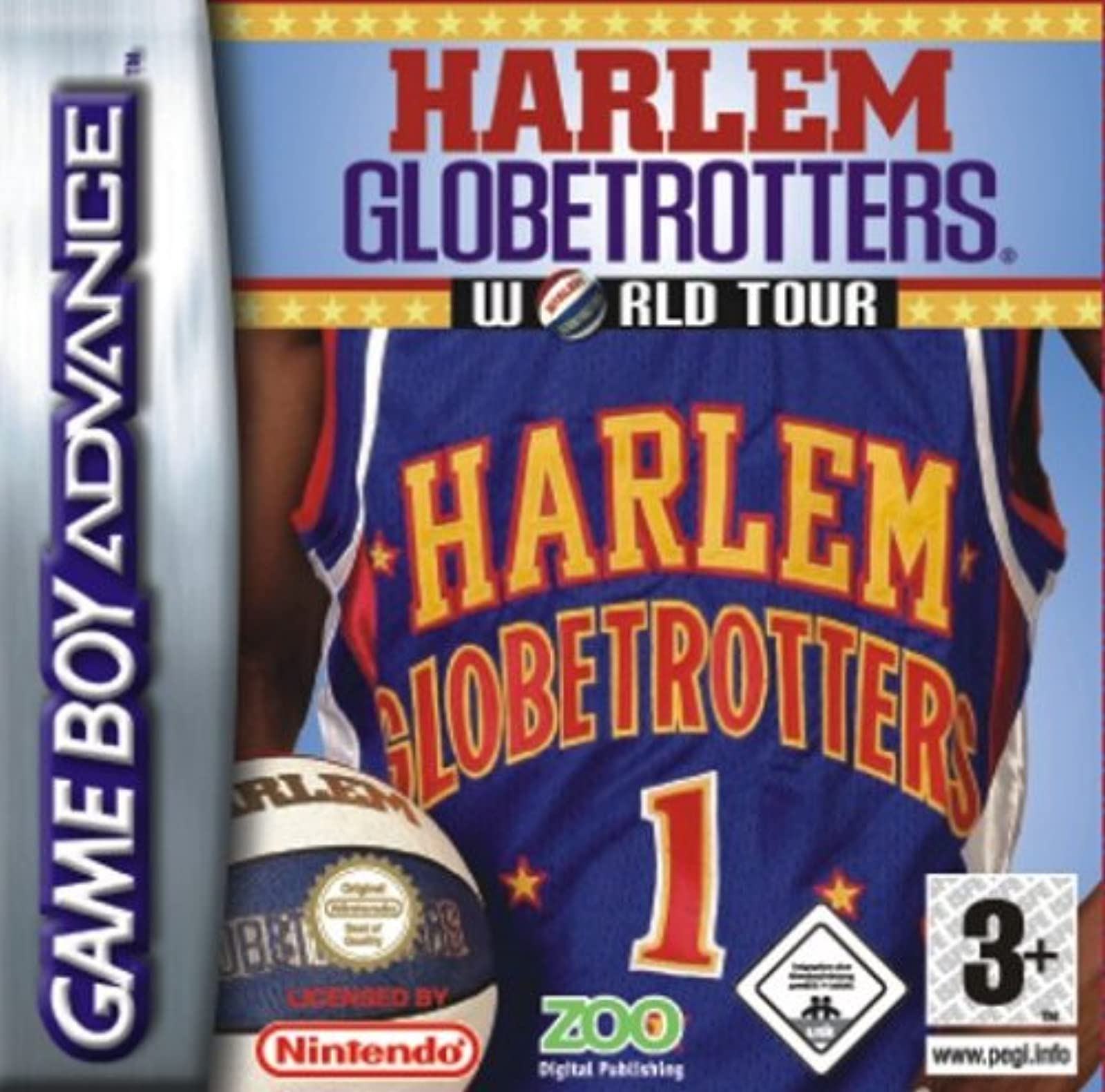 Harlem Globetrotters World Tour GBA For GBA Gameboy Advance