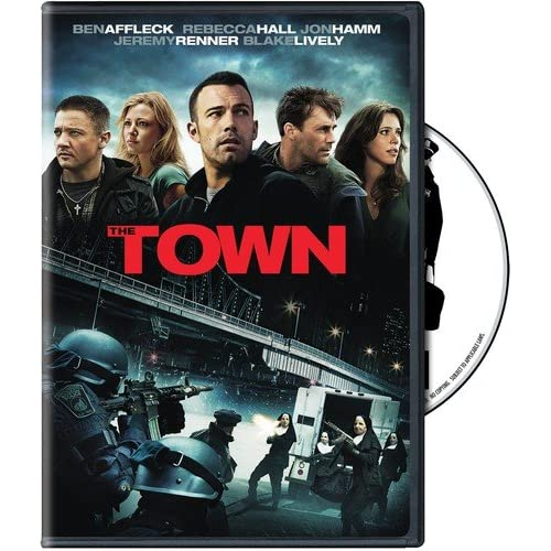 The Town On DVD With Ben Affleck Mystery