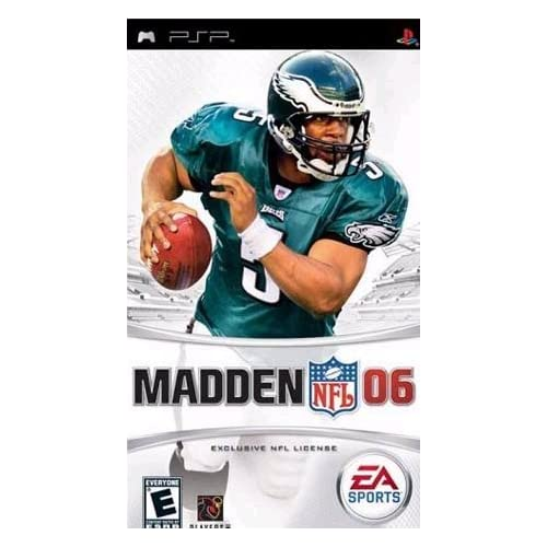 Madden NFL 06 For PSP UMD Football
