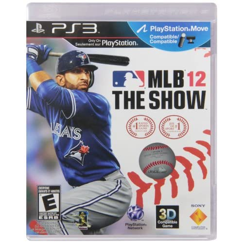 MLB 12 The Show For PlayStation 3 PS3 Baseball
