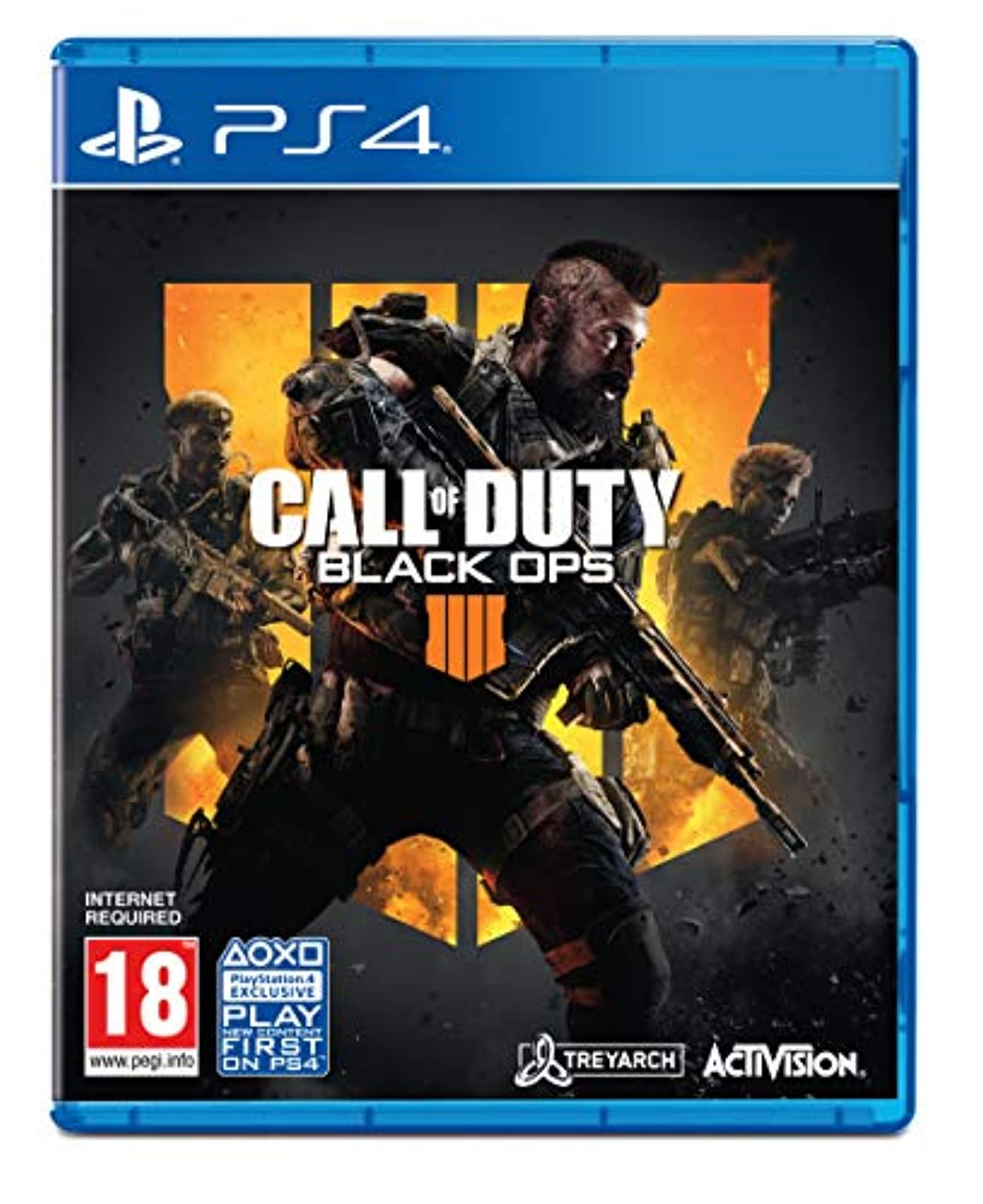 Call Of Duty: Black Ops 4 PS4 For PlayStation 4 COD PS5