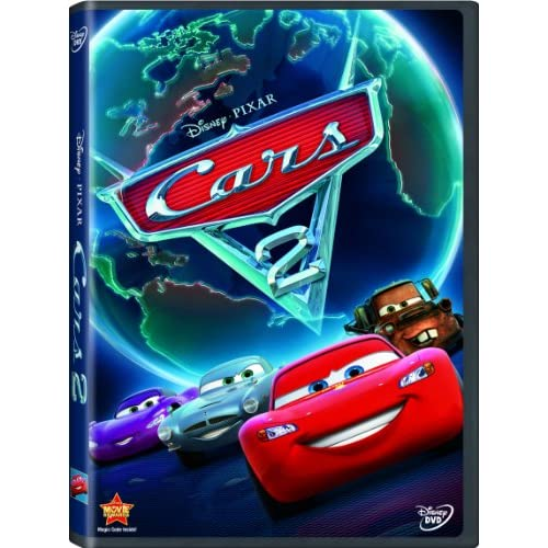 Cars 2 On DVD With Larry The Cable Guy Disney